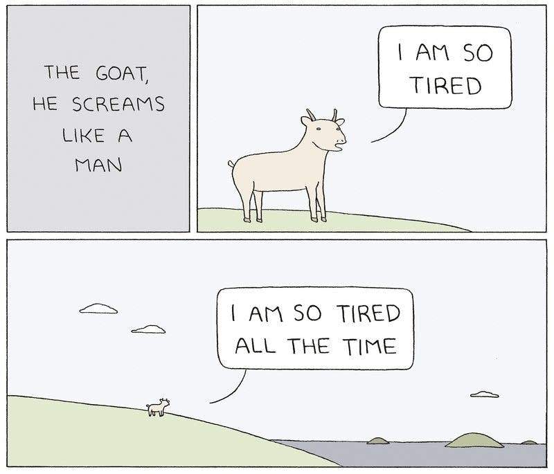 """""""The Goat, He Screams Like A Man"""""""