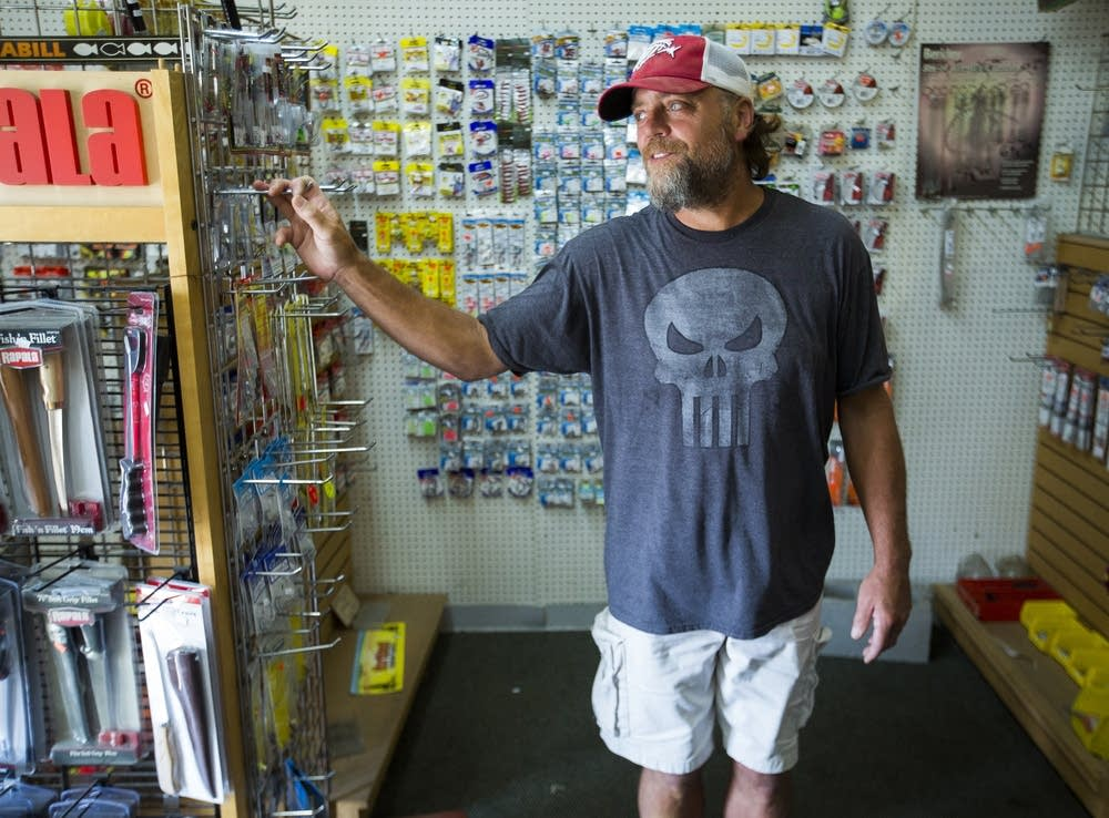 Ben Kellin, owner of Ben's Bait and Tackle