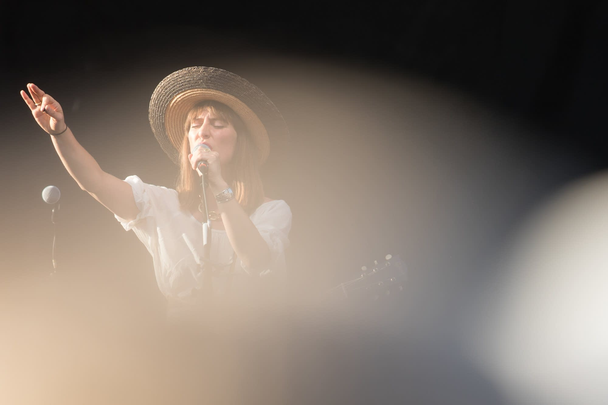 Feist at Rock the Garden 2018.