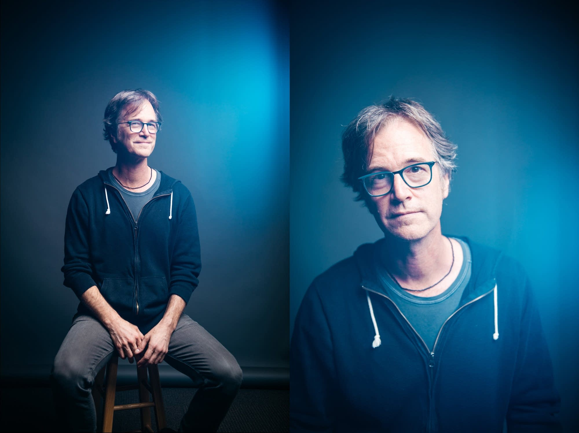 Dan Wilson portrait at The Current