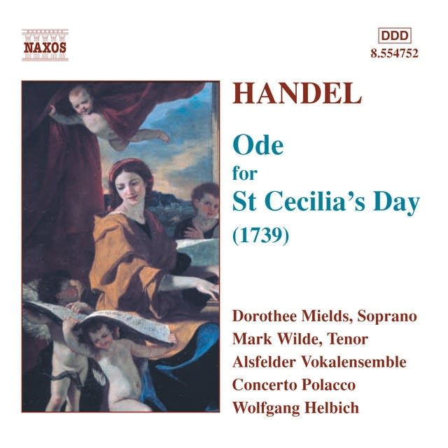 George Frideric Handel - Ode for St. Cecilia's Day: For harmony