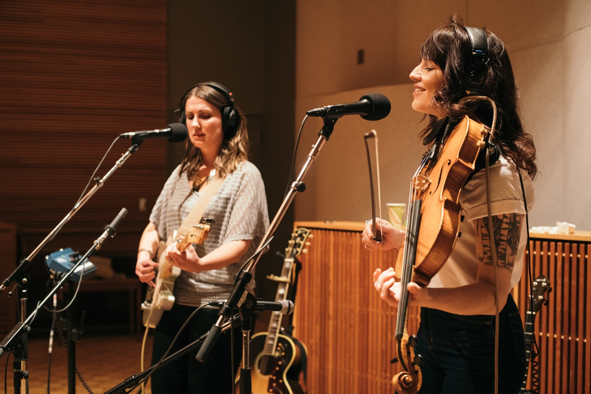 Dusty Heart perform in The Current's studio