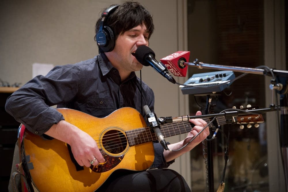 conor oberst and dawes in studio 5