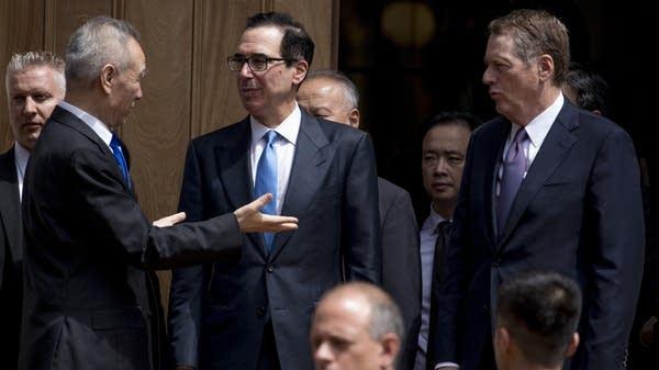 U.S.-China trade talks