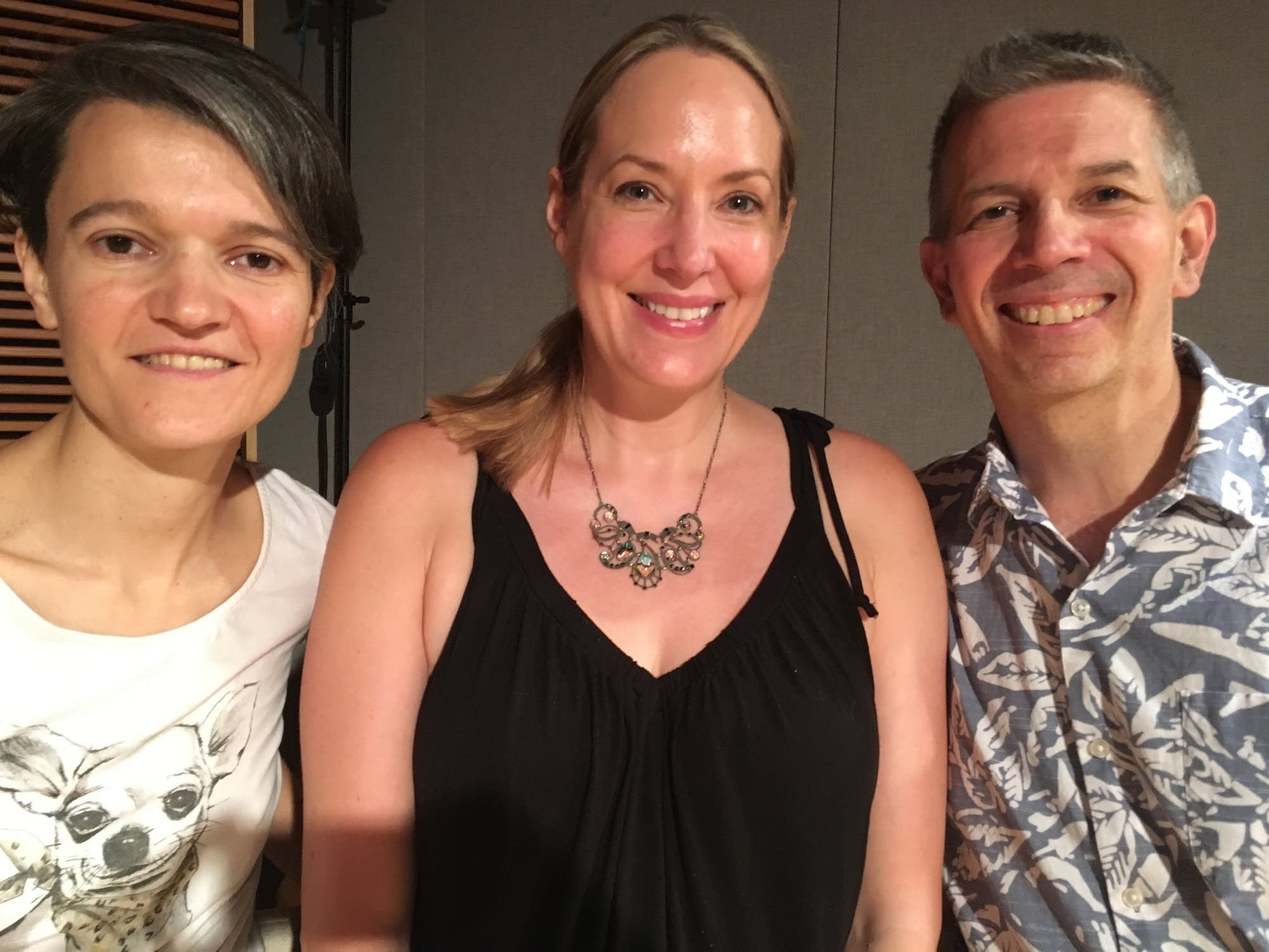 Maja Radovanlija and Linda Chatterton with Steve Staruch