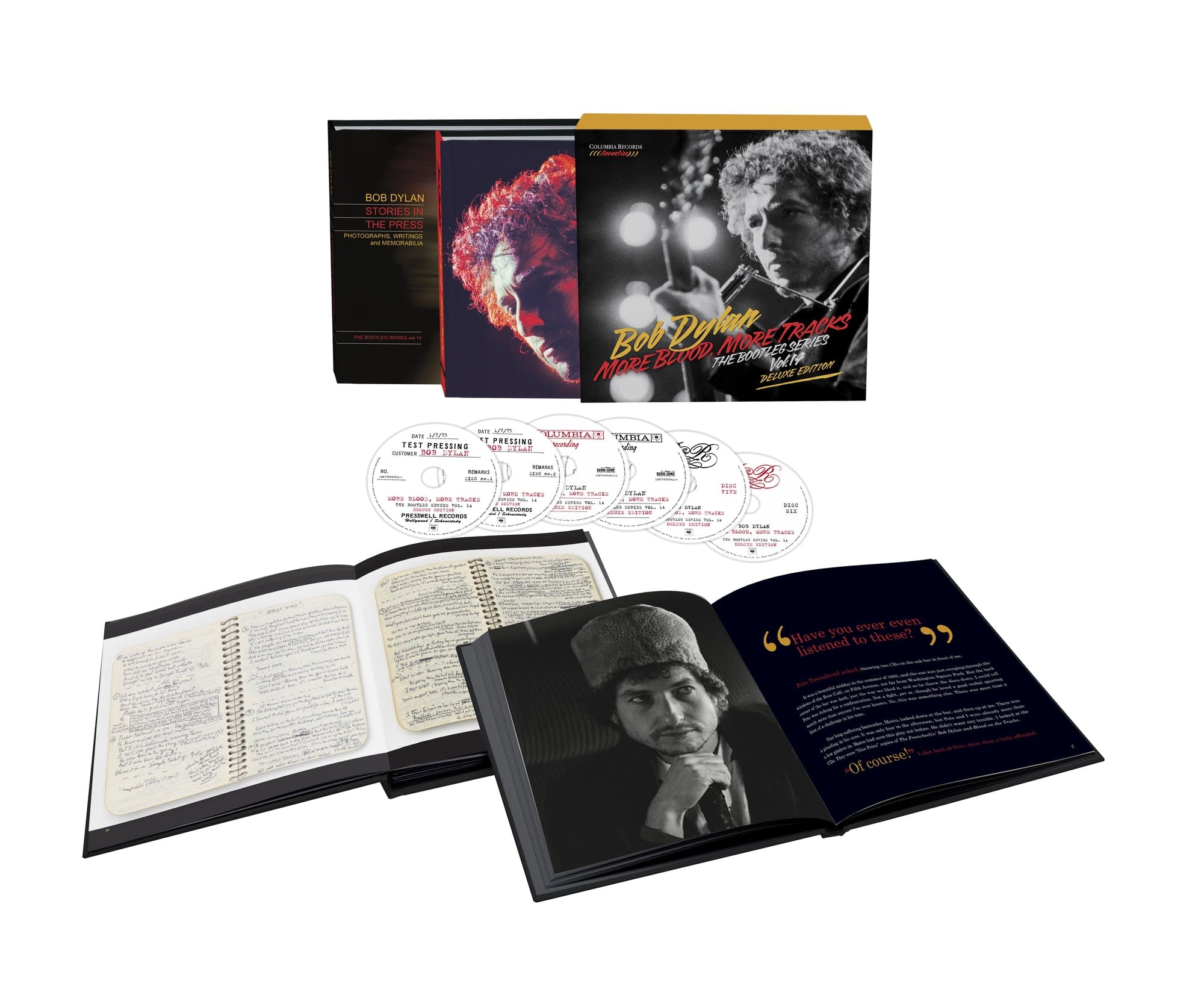Bob Dylan, 'More Blood, More Tracks' deluxe box set