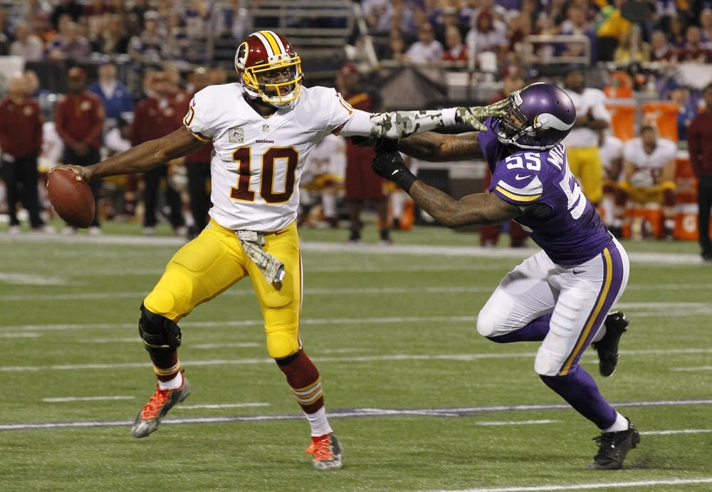 Marvin Mitchell, Robert Griffin III