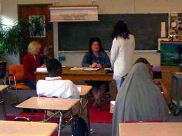 Maria in school