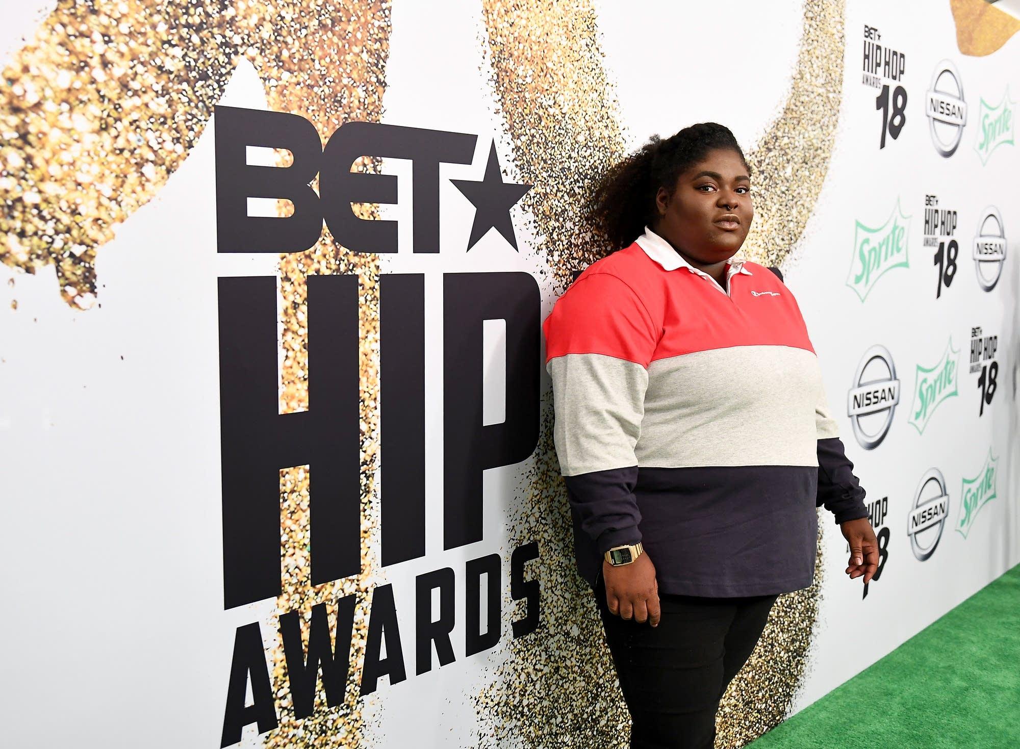Rapper Chika at the 2018 BET Hip Hop Awards