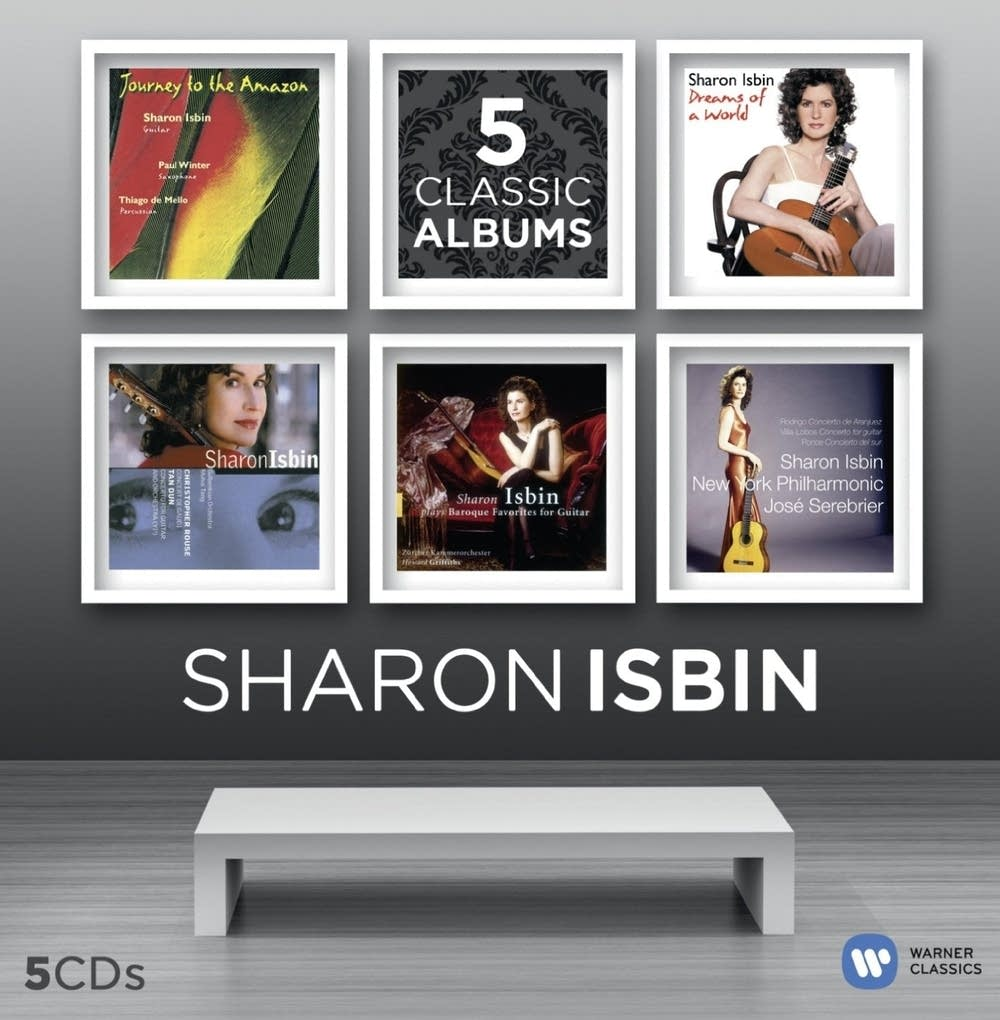 Sharon Isbin, 5 Classic Albums box set