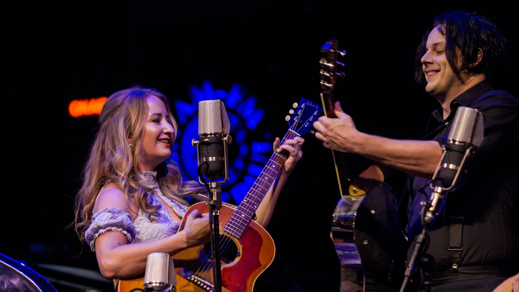 Jack White with Margo Price