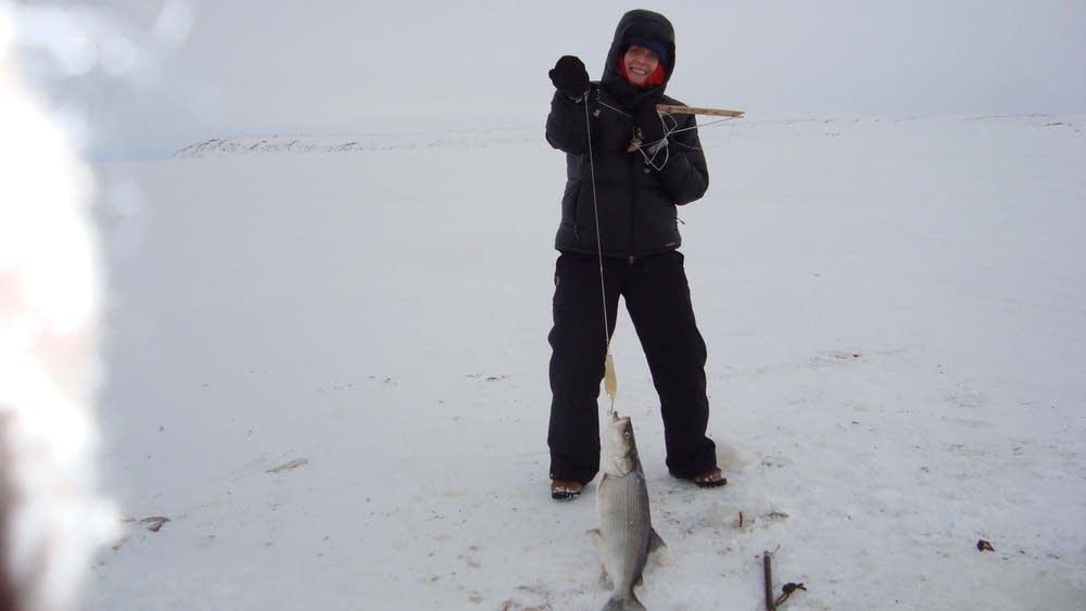 Rachel Frazin in Alaska