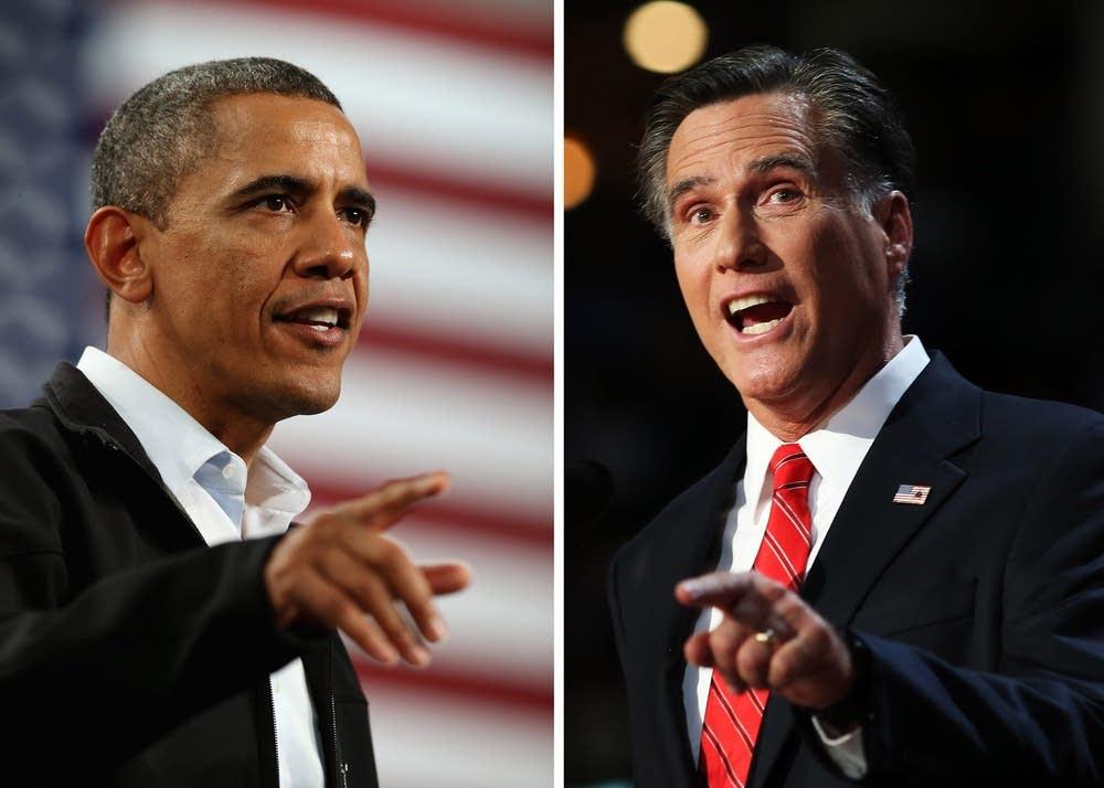 Obama, Romney