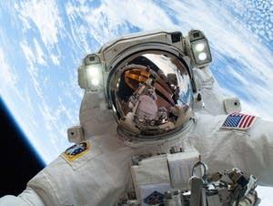 NASA astronaut Mike Hopkins