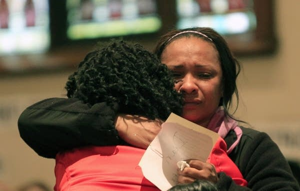 Mothers united in grief