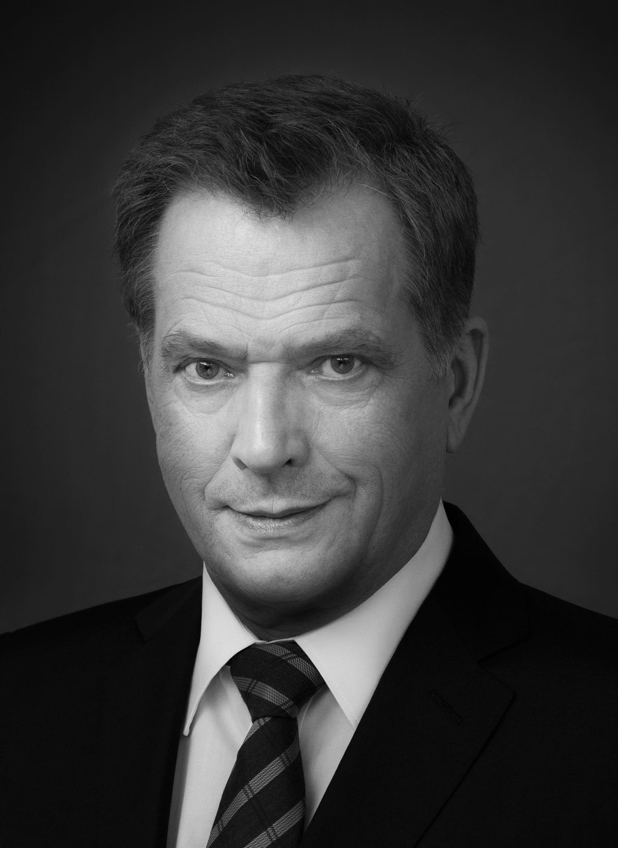 Finland President Sauli Niinisto