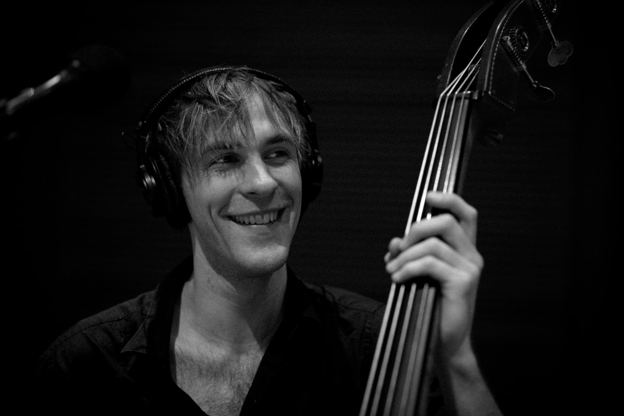 Steve Garrington bass upright