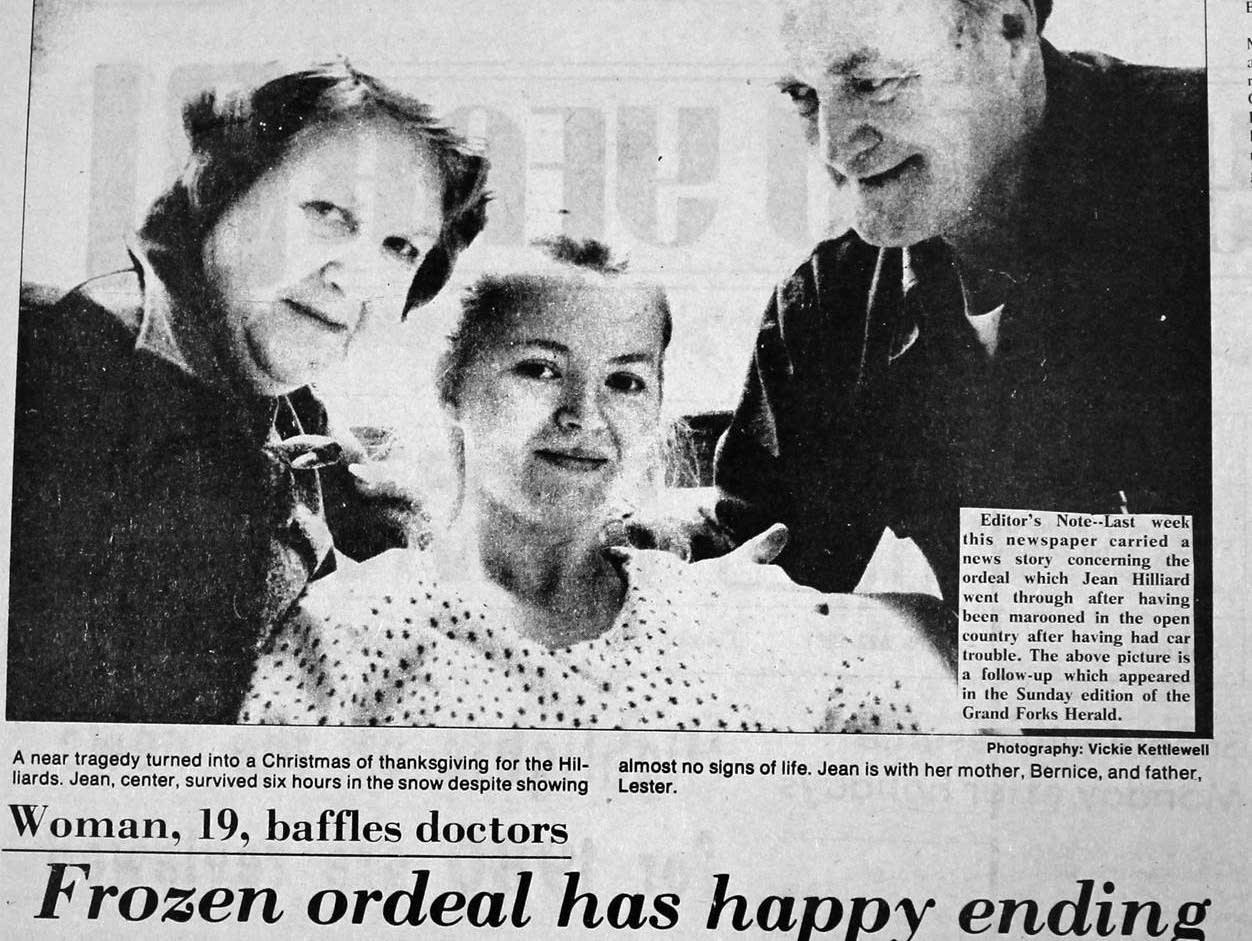 Frozen. Thawed. Not dead: Jean Hilliard's amazing Minnesota story | MPR News
