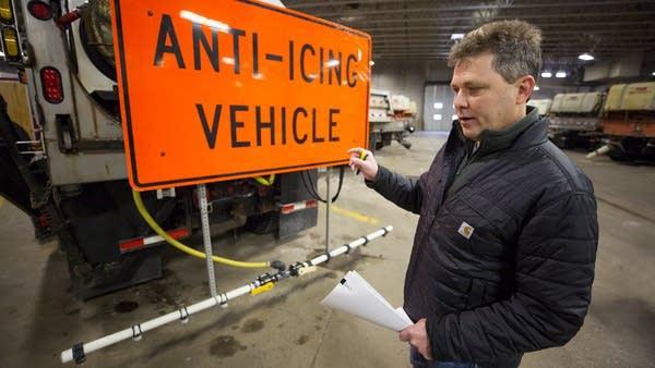 District 3 maintenance engineer Jamie Hukriede