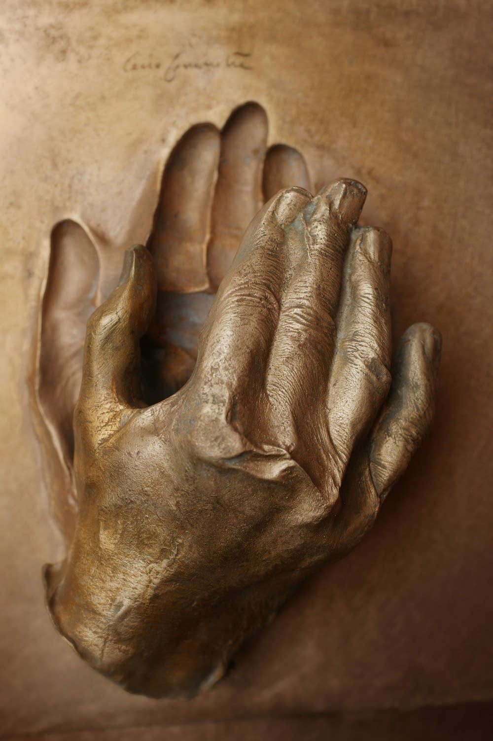 Hand of Pope John Paul II