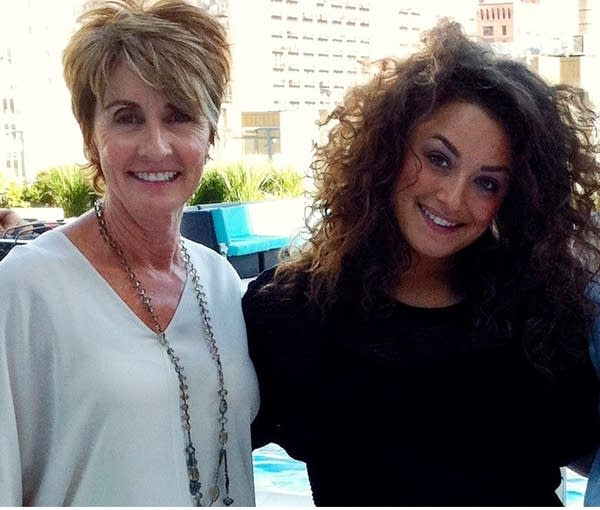 Michon Jenkin and her daughter Ashley Jenkin-Segal