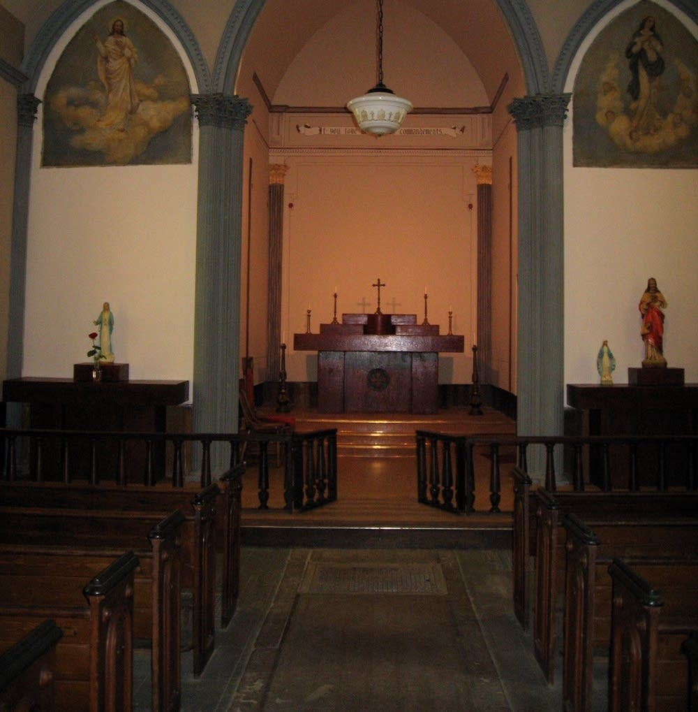 St. Rose interior