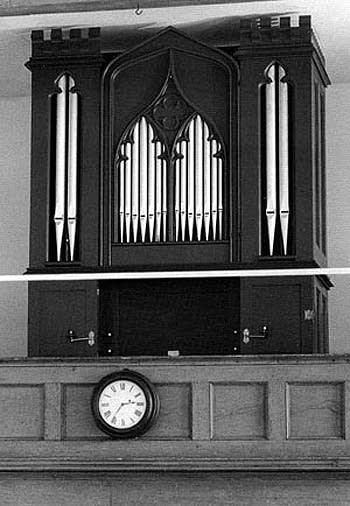 1833 Whiting organ   Saint Paul's Episcopal Church, Otis, Connecticut