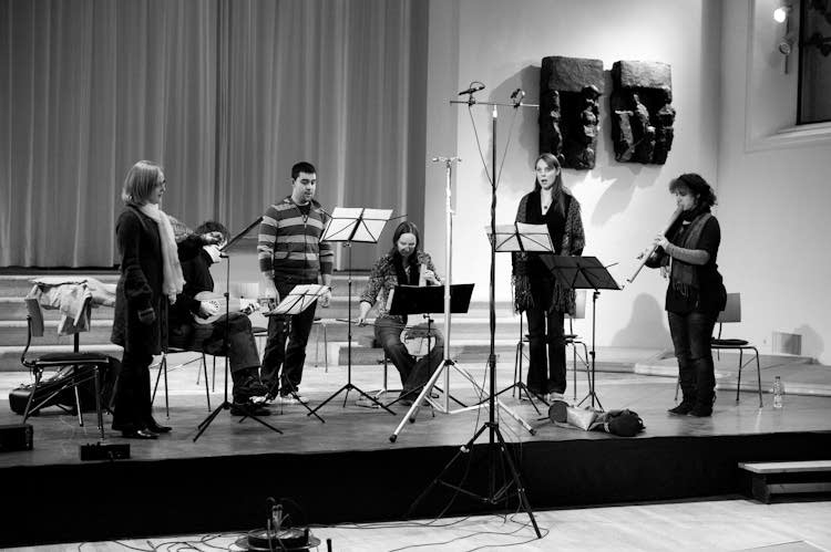 Ensemble LA MORRA: 'Ciconia' recording session
