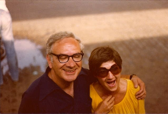Dominick Argento and Carolyn Bailey in Italy