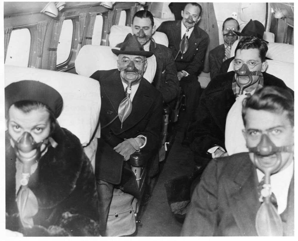 1938 breathing masks