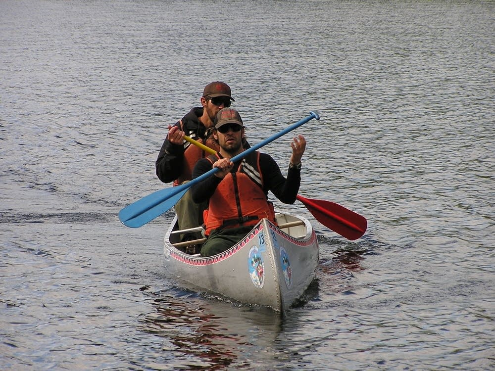 Canoe training