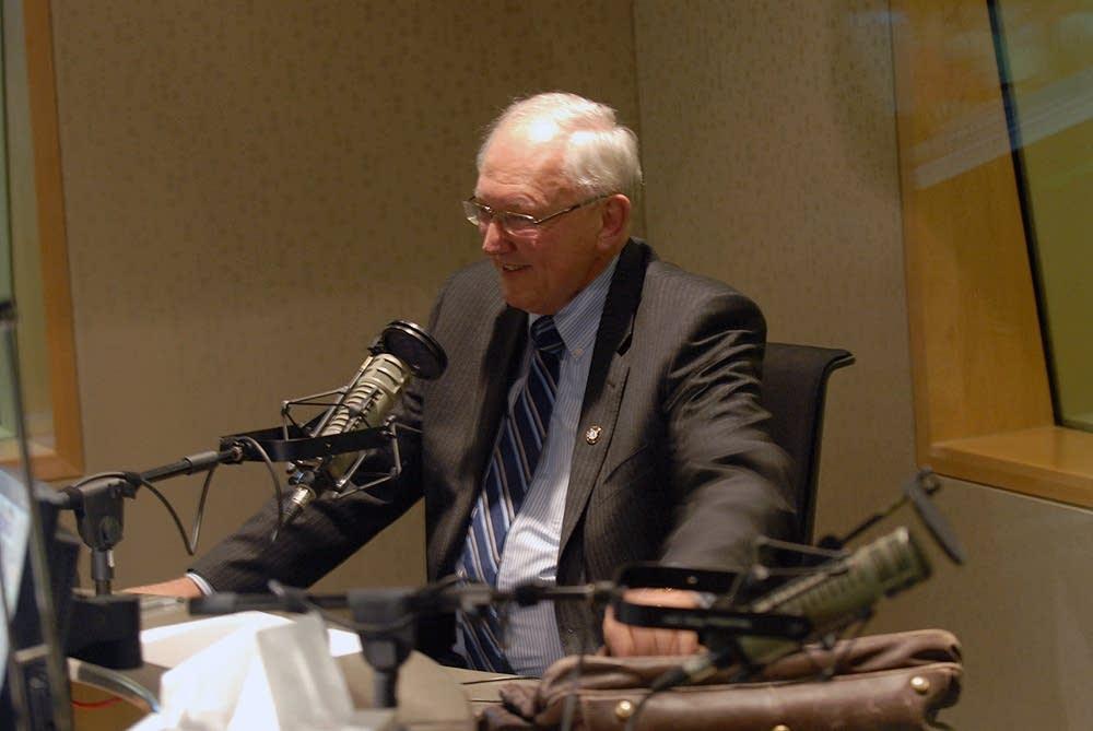 Retiring Associate Justice Anderson