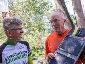 Paul Thompson talks about solar panels