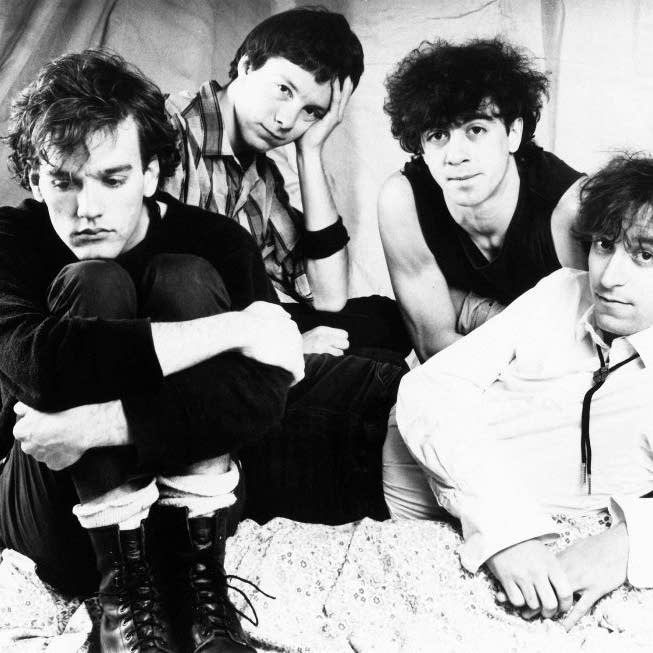 Early R.E.M.: Stipe, Mills, Berry, Buck