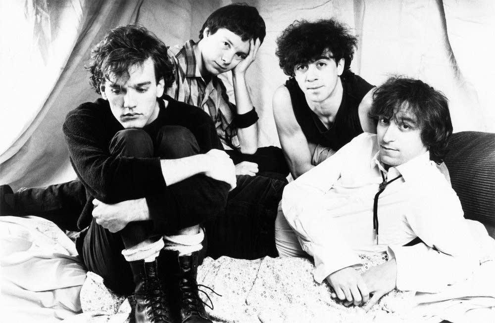 Early R.E.M.: Stipe, Mills, Berry, Buck