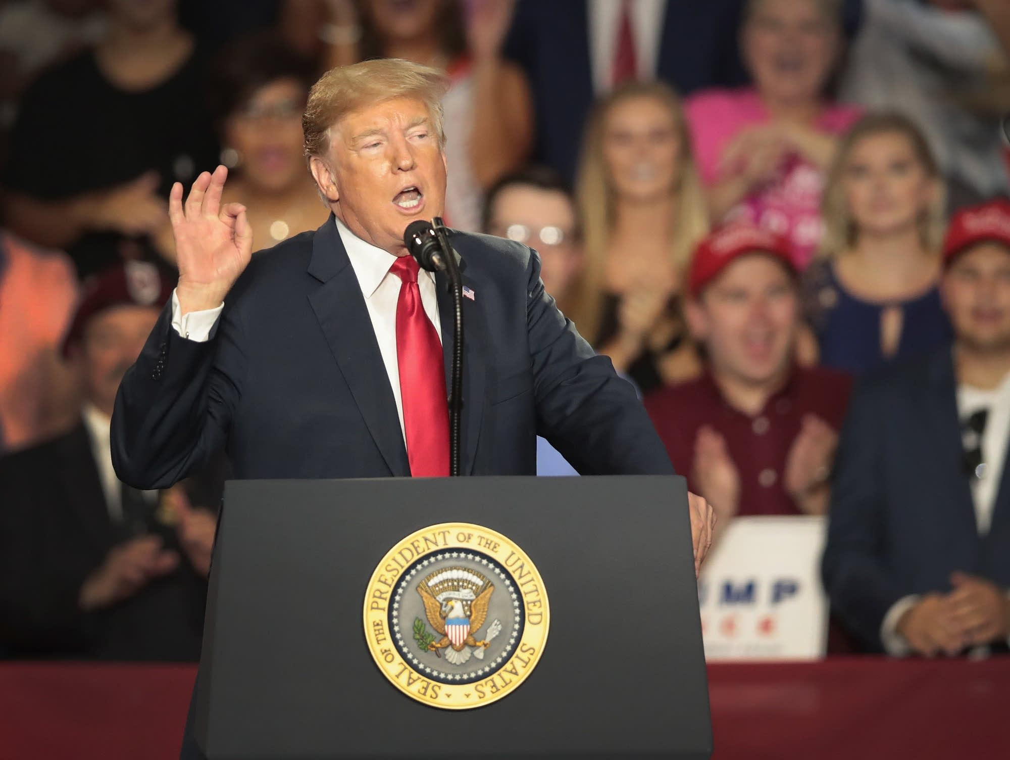 Trump casts midterm elections as a personal referendum
