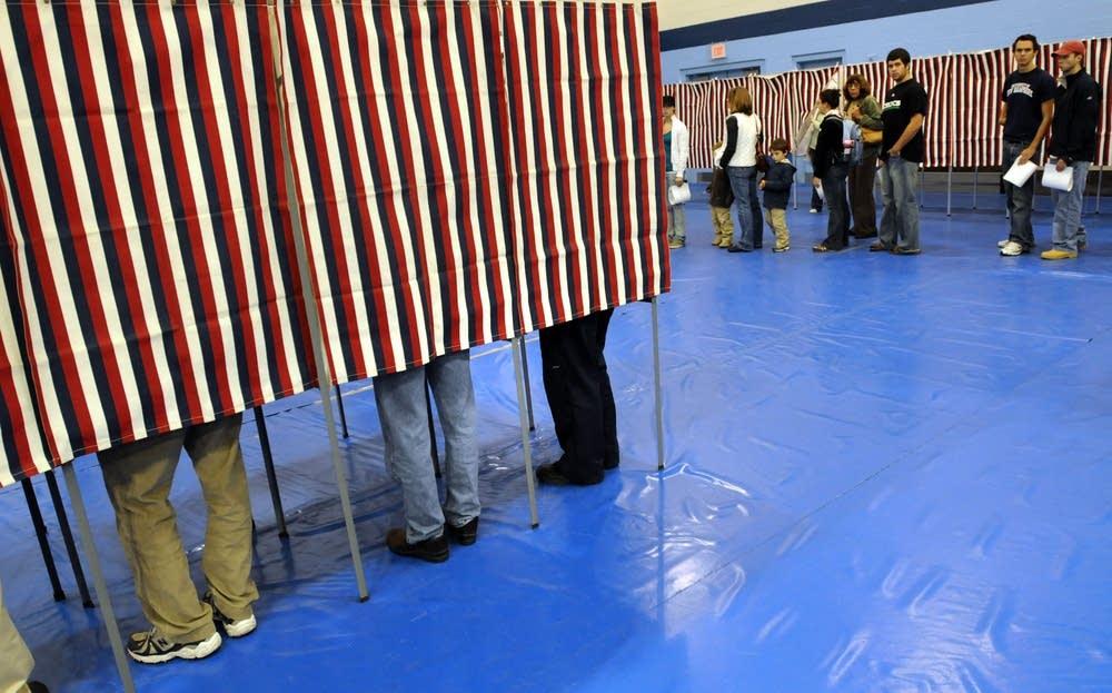 N.H. polls