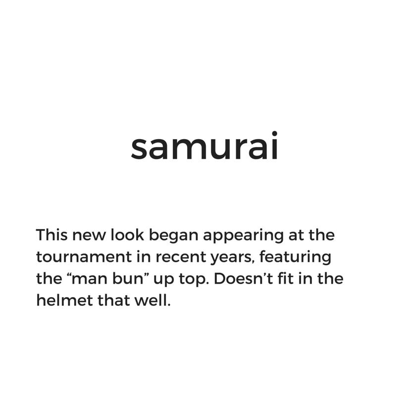 Hockey hair: What is the samurai?
