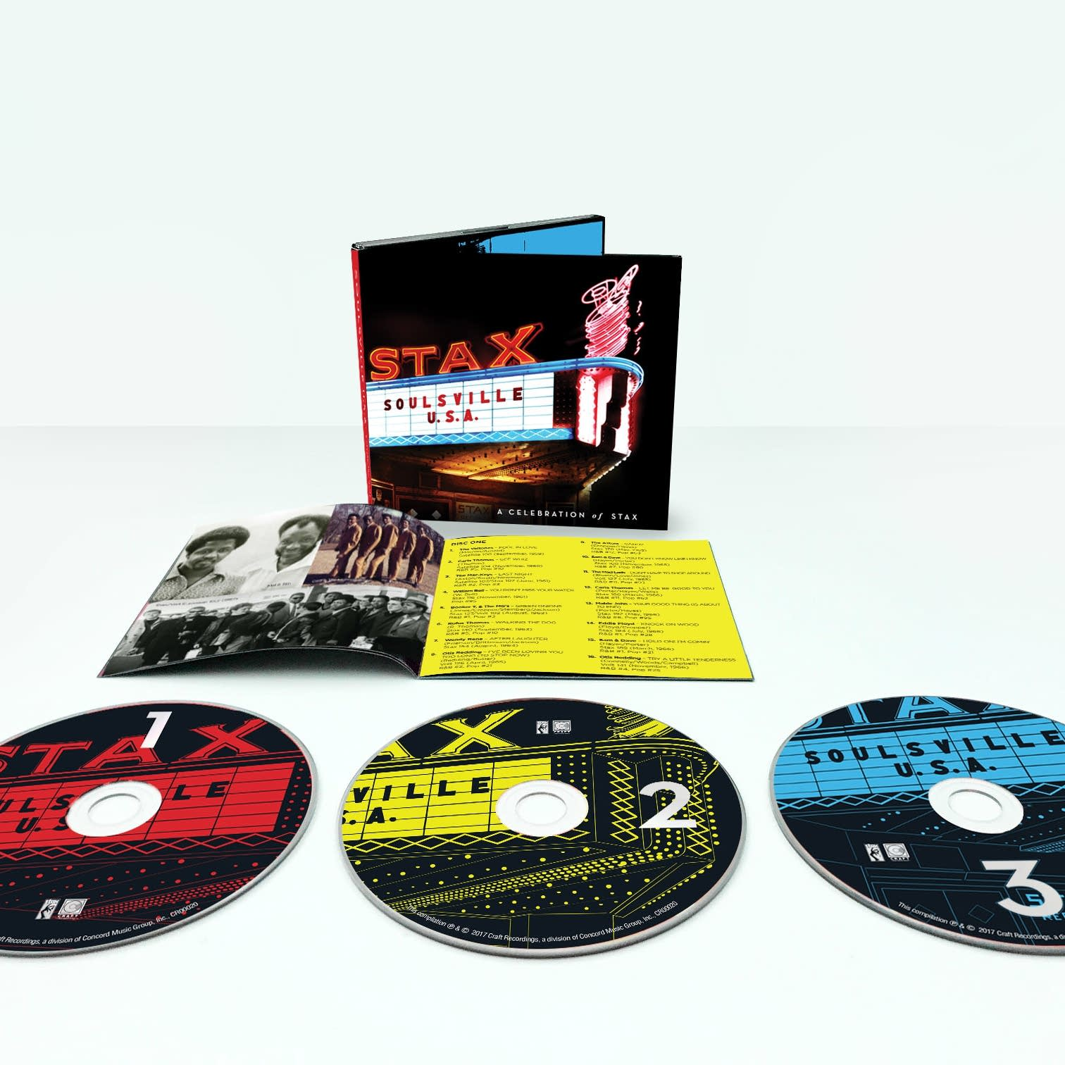 STAX 60th Anniversary albums