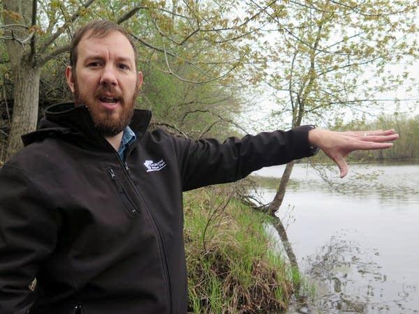 Limnologist Adam Heathcote