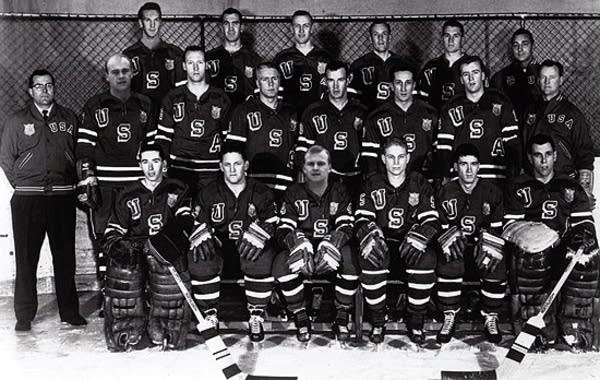 1960 U.S. Olympic Hockey team