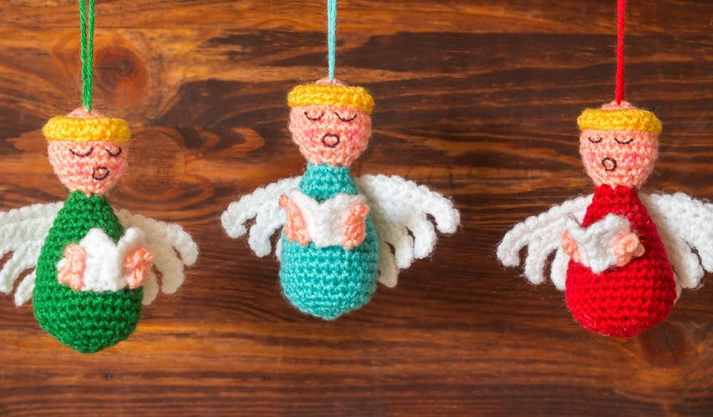 Choir of Angels Christmas Ornaments