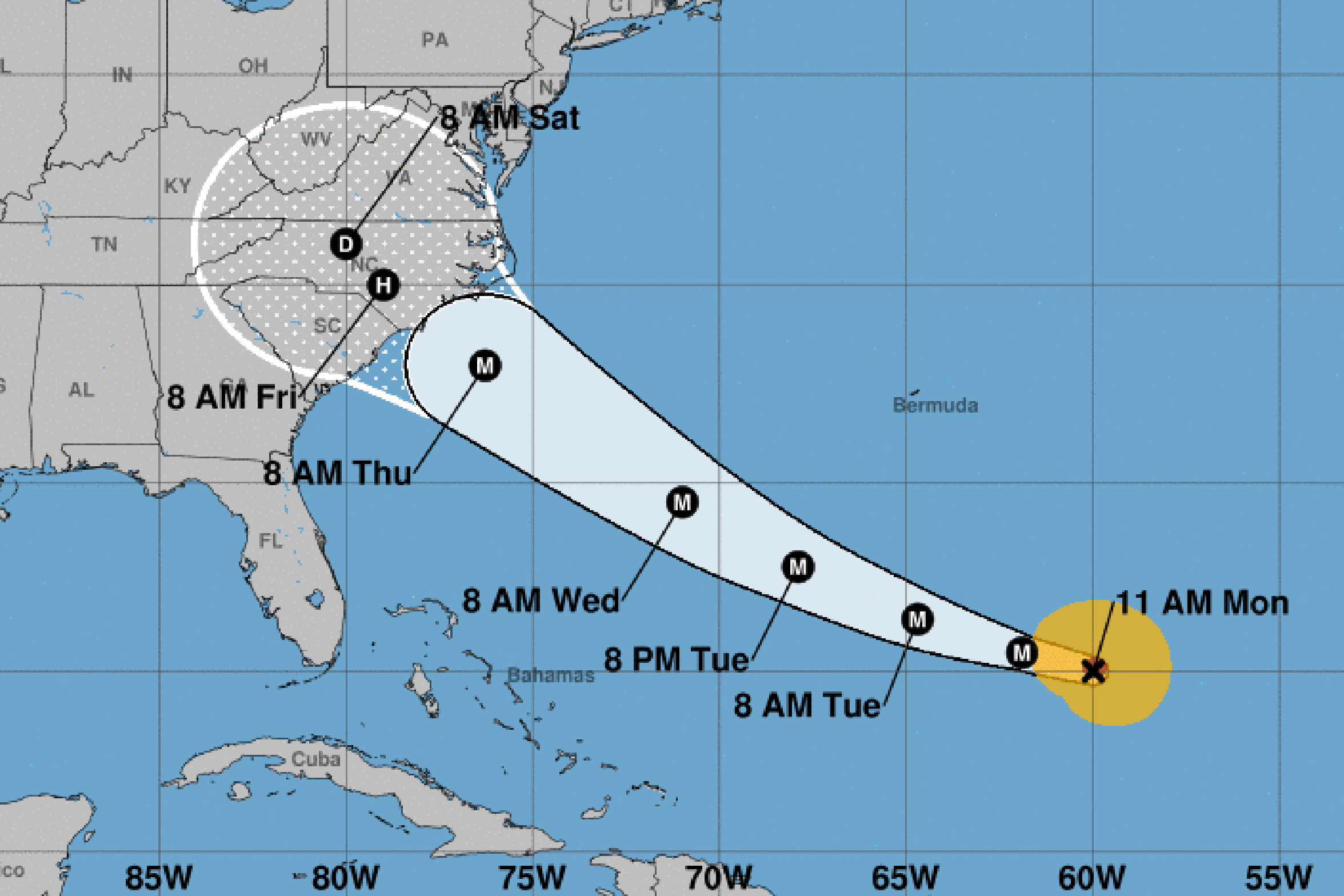 Hurricane Florence Is Expected To Hit The Southeastern U S Coast
