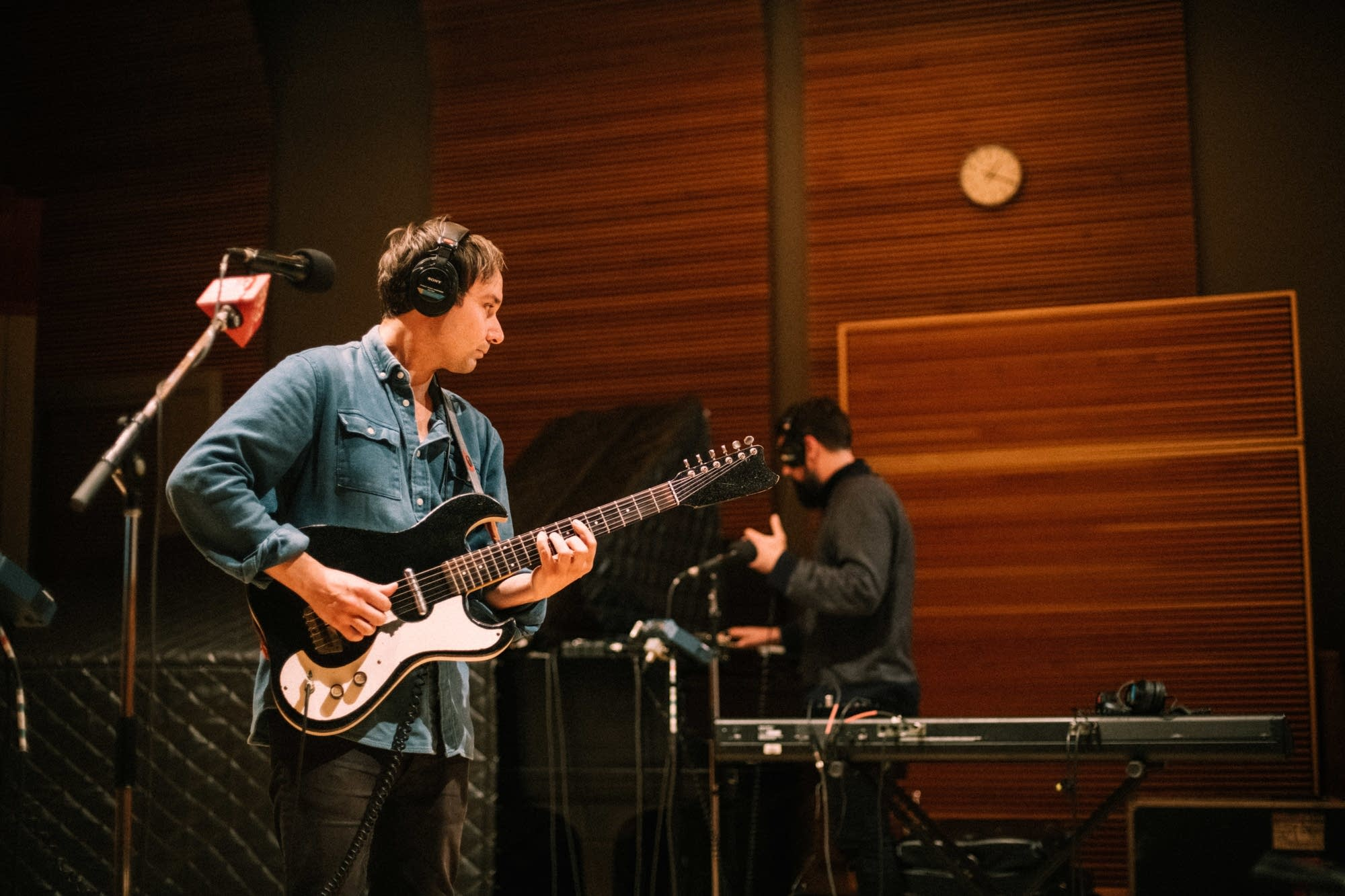 Grizzly Bear perform in The Current studio