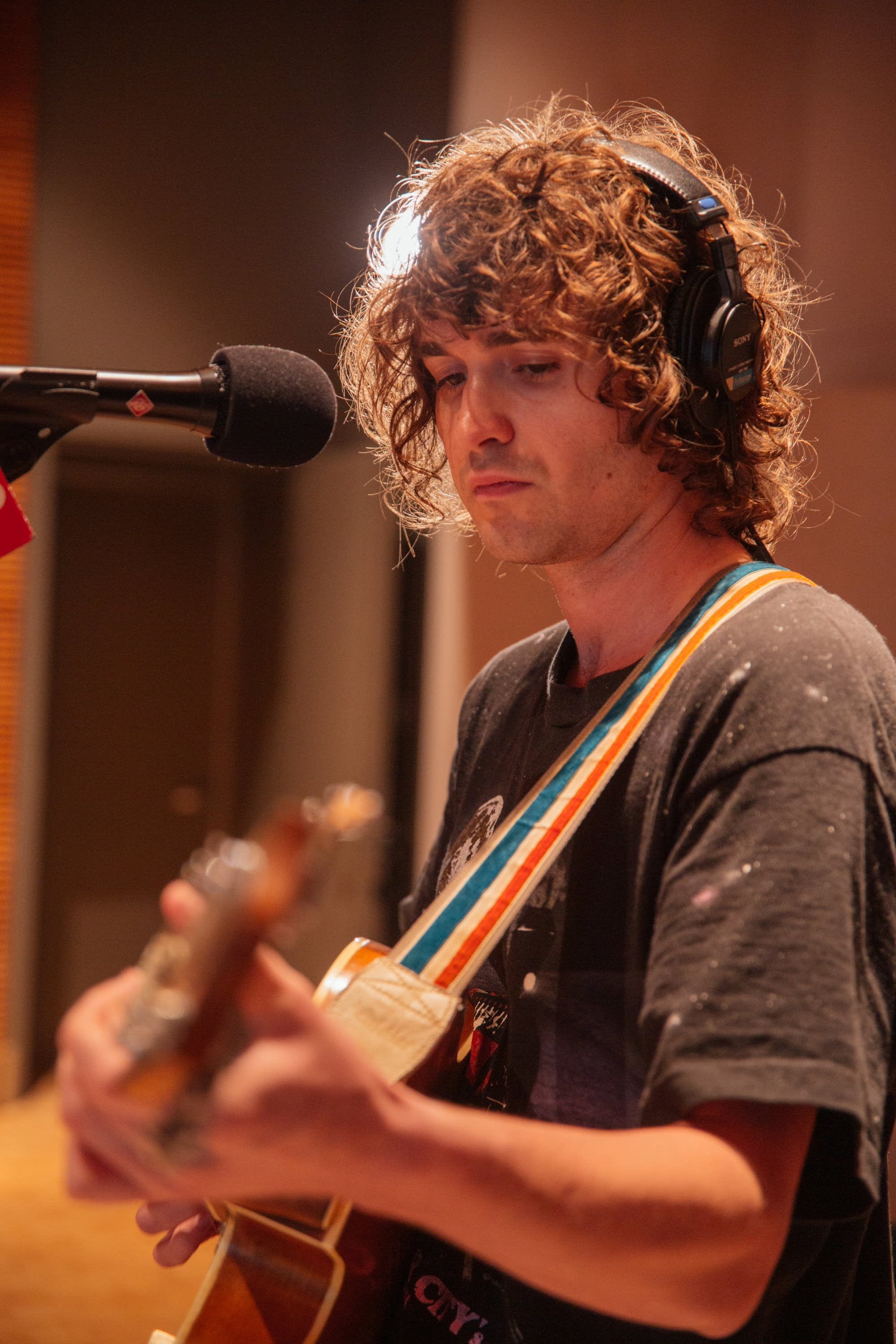 Night Moves perform in The Current studio
