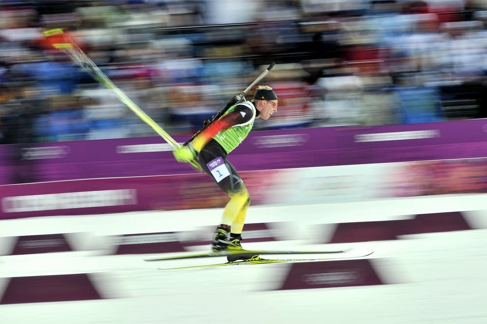 Daniel Bohm of Germany wins silver medal