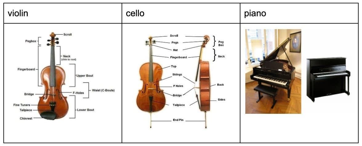 Instrument Card