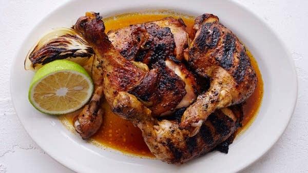 Chicken Legs Recado Rojo