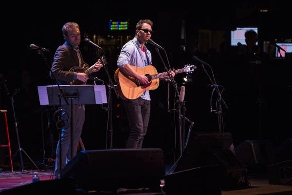 Amos Lee, with Chris Thile