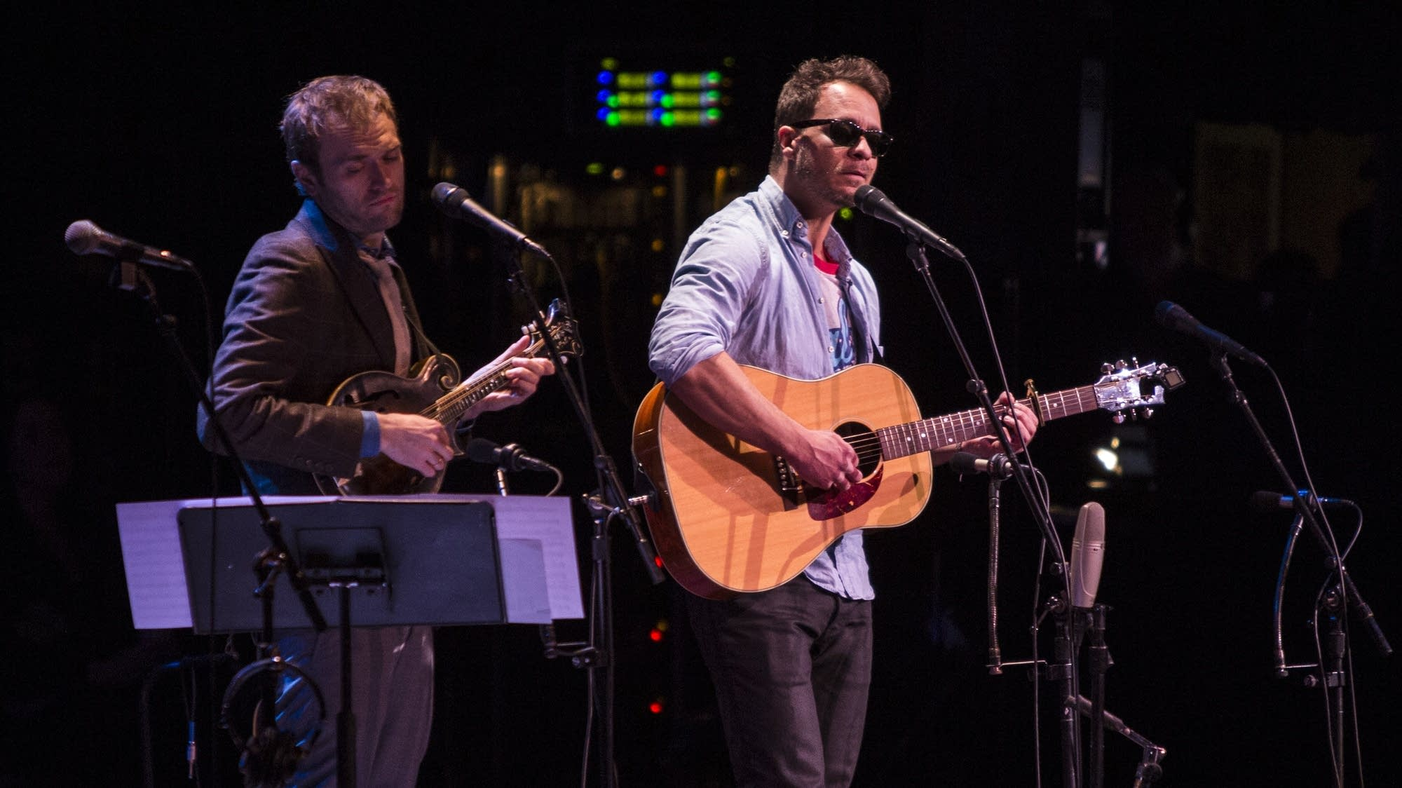 Amos Lee, with Chris Thile